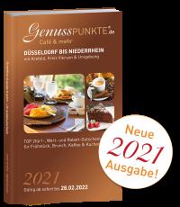 """Ausgabe 2021: """"Café & mehr"""" Niederrhein bis Düsseldorf 2021 (gültig bis 28.02.2022)"""
