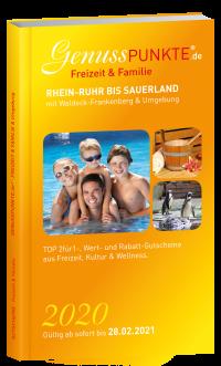 """""""Freizeit & Familie"""" Rhein-Ruhr bis Sauerland mit Waldeck-Frankenberg (gültig bis 28.02.2021)"""