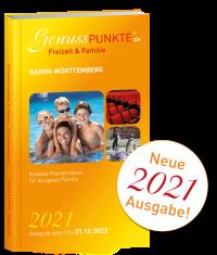 """Ausgabe 2021: """"Freizeit & Familie"""" Baden-Württemberg (gültig bis 31.10.2022)"""