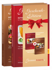 """Geschenkedition: Düsseldorf """"classic"""" + Café & mehr - 2020 (gültig bis 28.02.2021)"""