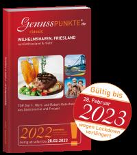 """2021er-Ausgabe verlängert: """"classic"""" Wilhelmshaven, Friesland & mehr 2021 (gültig bis 28.02.2023)"""